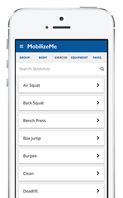 Mobilize Me Mobility exercises